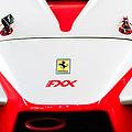 2005 Ferrari Fxx Evoluzione Hood Emblem by Jill Reger