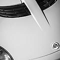2005 Lotus Elise Hood Emblem -0125bw by Jill Reger