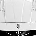 2005 Maserati Mc12 Hood  Emblem 2 by Jill Reger