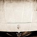 2005 Maserati Mc12 Hood Ornament by Jill Reger