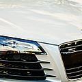 2008 Audi Hood Emblem -0440c by Jill Reger