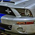 2008 Ford Mustang Shelby Grill Headlight by Michael Gordon