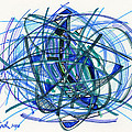 2010 Abstract Drawing 22 by Lynne Taetzsch