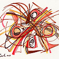 2010 Abstract Drawing 23 by Lynne Taetzsch