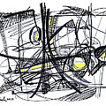 2010 Abstract Drawing 27 by Lynne Taetzsch