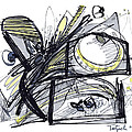 2010 Abstract Drawing 28 by Lynne Taetzsch