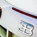 2010 Bugatti Veyron Grand Sport Taillight Emblem -0479c by Jill Reger