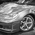 2010 Chevy Corvette Grand Sport Bw by Rich Franco