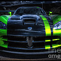 2010 Dodge Viper Acr by David B Kawchak Custom Classic Photography