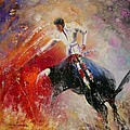 2010 Toro Acrylics 05 by Miki De Goodaboom