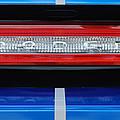 2011 Dodge Challenger Rt Hemi Taillight Emblem by Jill Reger