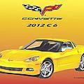 2012 C 6 Corvette by Jack Pumphrey