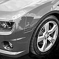2012 Chevy Camaro Ss Bw by Rich Franco
