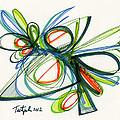 2012 Drawing #35 by Lynne Taetzsch