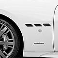 2012 Maserati Gran Turismo S B And W by Rich Franco