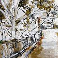 2013 007 Road To The Arlington Memorial Bridge by Alyse Radenovic
