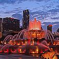 2013 Chicago Blackhawks Skyline by Jeff Lewis