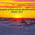 2014 03 12 02 A Psalm 19 1 by Mark Olshefski