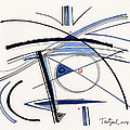 2014 Abstract Drawing #1 by Lynne Taetzsch
