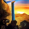2014 An Ape Oddessy  by Scott French