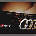 2014 Audi Rs7 Logo by Shehan Wicks