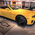 2014 Camaro Convertible by David B Kawchak Custom Classic Photography
