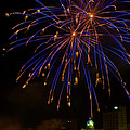 2014 Three Rivers Festival Fireworks Fairmont Wv 1 by Howard Tenke