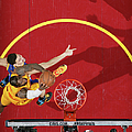 2015 Nba Finals - Game Three by Nathaniel S. Butler