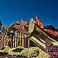 2015 Rose Parade Float With Butterflies 15rp044 by Howard Stapleton