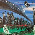 nyc by Mark Kazav