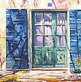 213 Rue De Provence by David Lloyd Glover