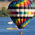 Rocky Mountain Balloon Festival by Steve Krull