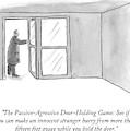 The Passive-agressive Door-holding Game: by Carolita Johnson