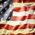 American Flag by Les Cunliffe