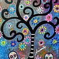 Dia De Los Muertos by Pristine Cartera Turkus