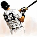 23   Don Mattingly  by Iconic Images Art Gallery David Pucciarelli