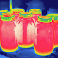Thermogram by Science Stock Photography