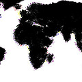 World Map by Snowflake Obsidian
