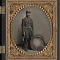 Civil War Soldier, C1863 by Granger