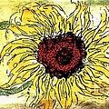 24 Kt Sunflower - Barbara Chichester by Barbara Chichester