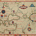 Old World Map by Inspired Nature Photography Fine Art Photography