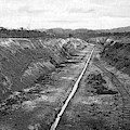 Panama Canal, C1910 by Granger