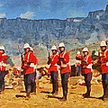 24th Regiment Of Foot - En Garde by Digital Photographic Arts