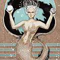 24x36 Choose Mermaid by Dia T