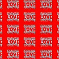 25 Affirmations Of Love In Red by Helena Tiainen