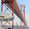 25 De Abril Bridge 2 by Jon Cotroneo