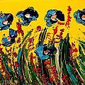Poppies by Mark Kazav