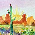 Southwestern Landscape by Patricia Lazaro