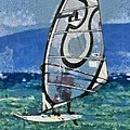 Windsurfing by George Atsametakis