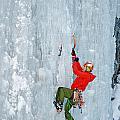 Ice Climbing by Elijah Weber